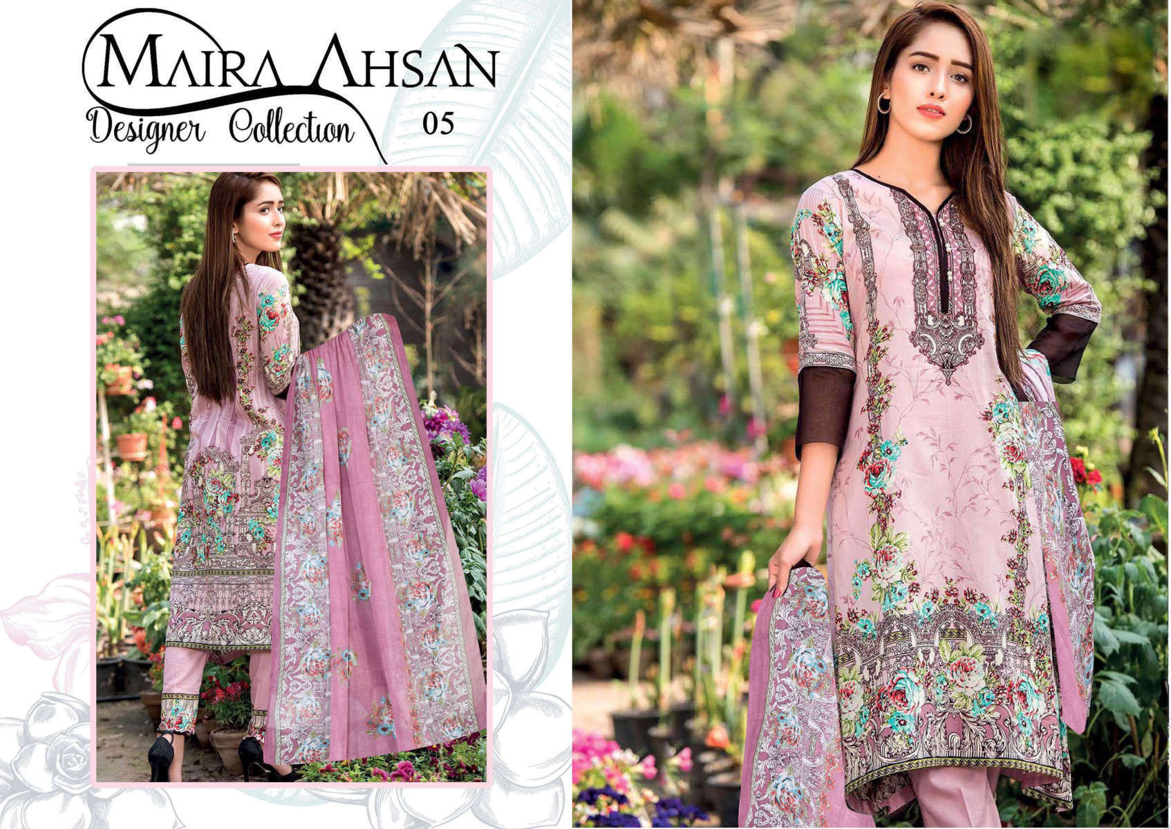 Maira Ahsan Designer Collection Vol 1 Salwar Suit Wholesale Catalog 10 Pcs 8 - Maira Ahsan Designer Collection Vol 1 Salwar Suit Wholesale Catalog 10 Pcs