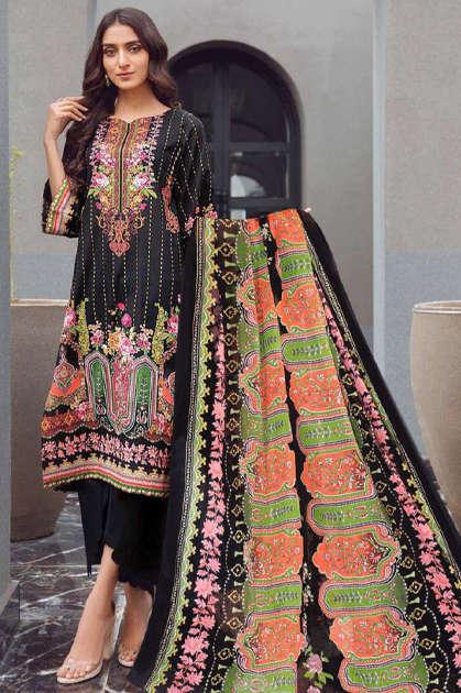 Maira Ahsan Designer Collection Vol 1 Salwar Suit Wholesale Catalog 10 Pcs