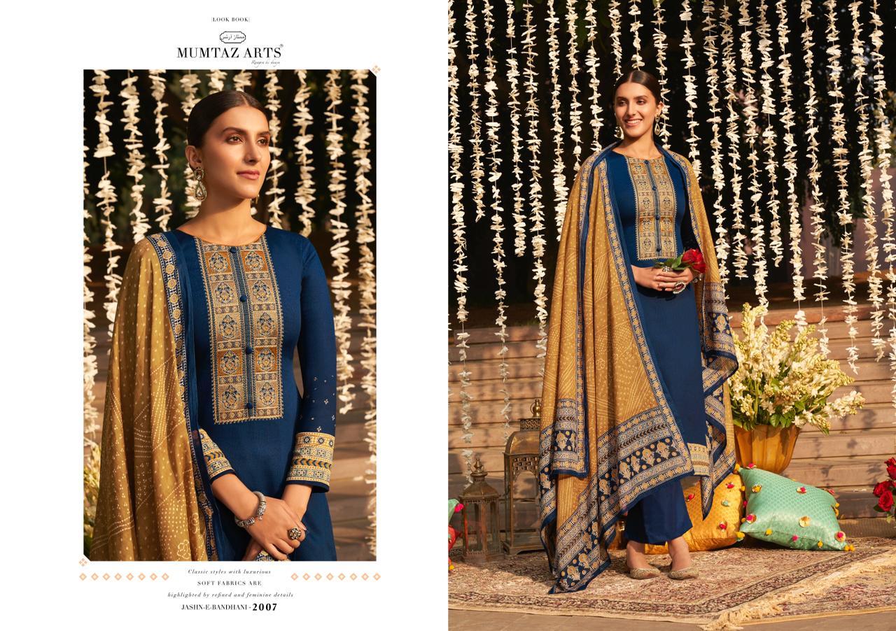 Mumtaz Arts Jashn E Bandhani Hit List Salwar Suit Wholesale Catalog 6 Pcs 2 - Mumtaz Arts Jashn E Bandhani Hit List Salwar Suit Wholesale Catalog 6 Pcs