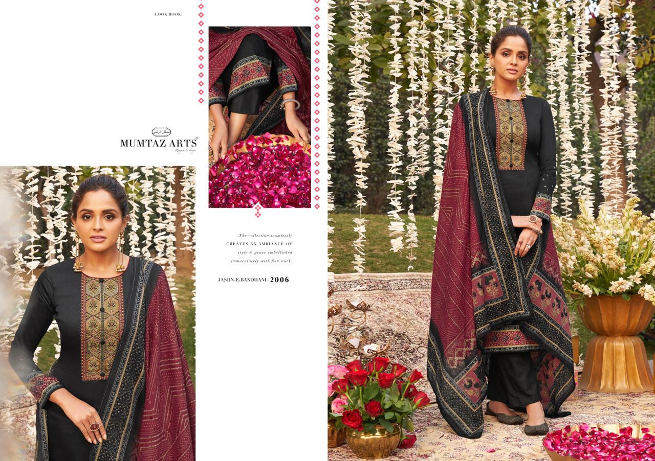 Mumtaz Arts Jashn E Bandhani Hit List Salwar Suit Wholesale Catalog 6 Pcs 3 - Mumtaz Arts Jashn E Bandhani Hit List Salwar Suit Wholesale Catalog 6 Pcs