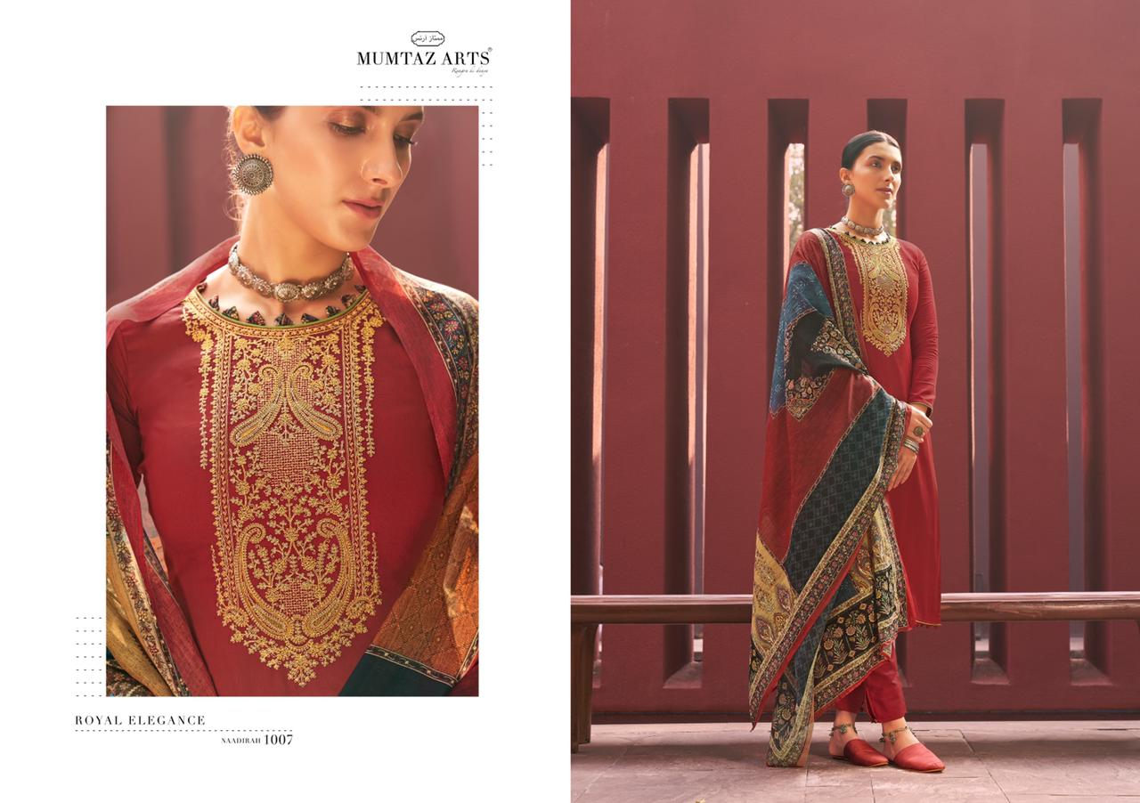 Mumtaz Arts Naadirah Hit List Salwar Suit Wholesale Catalog 7 Pcs 9 - Mumtaz Arts Naadirah Hit List Salwar Suit Wholesale Catalog 7 Pcs