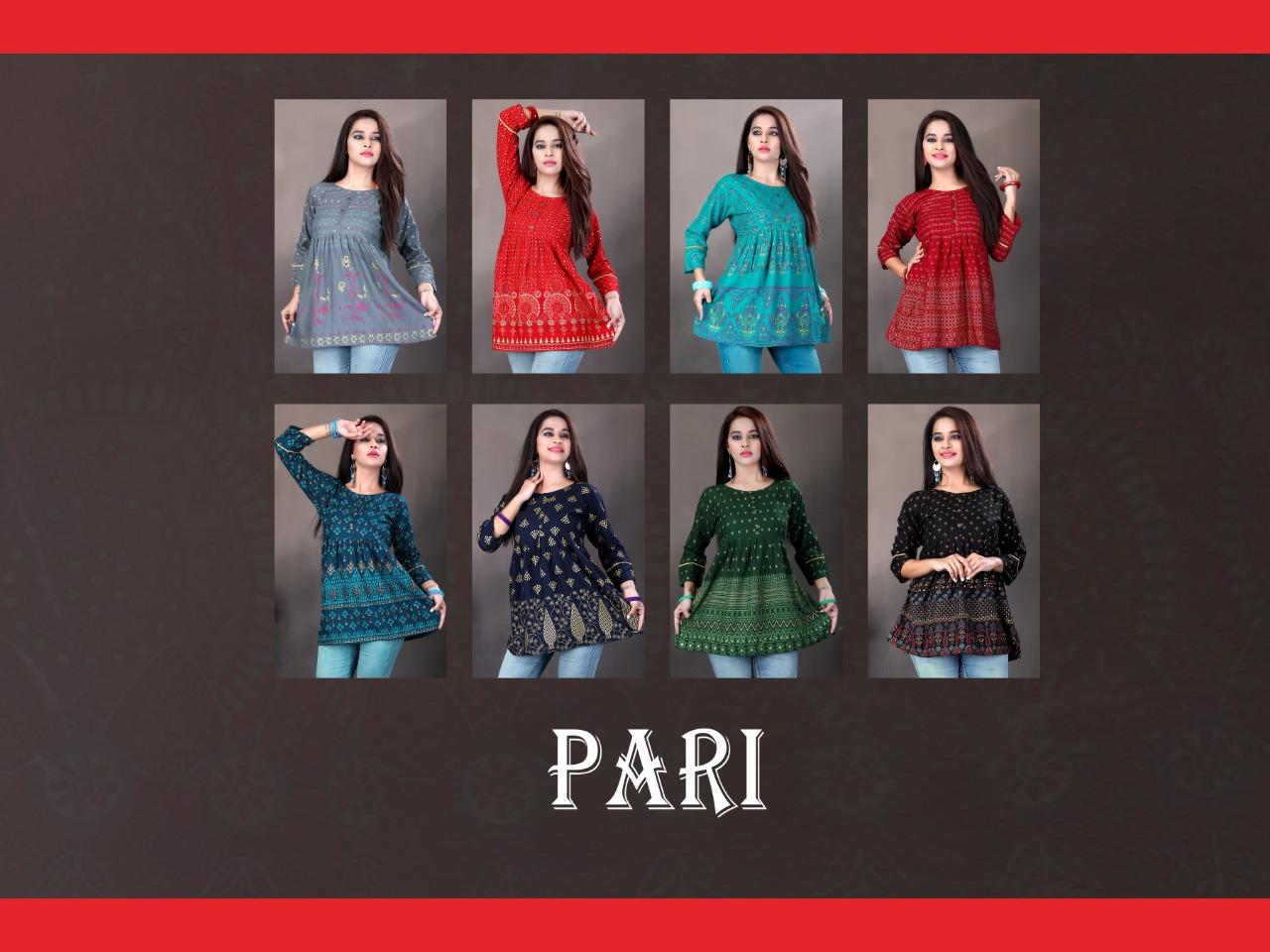 Pari Short Tops Wholesale Catalog 8 Pcs 10 - Pari Short Tops Wholesale Catalog 8 Pcs