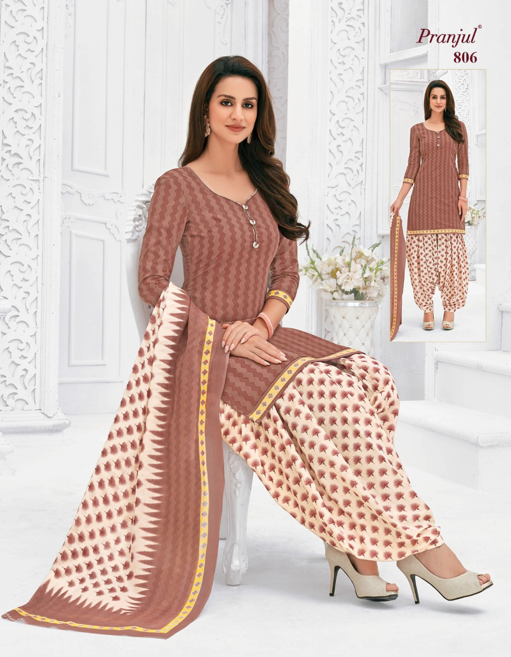 Pranjul Priyanka Vol 8 A Readymade Suit Wholesale Catalog 15 Pcs 2 - Pranjul Priyanka Vol 8 A Readymade Suit Wholesale Catalog 15 Pcs