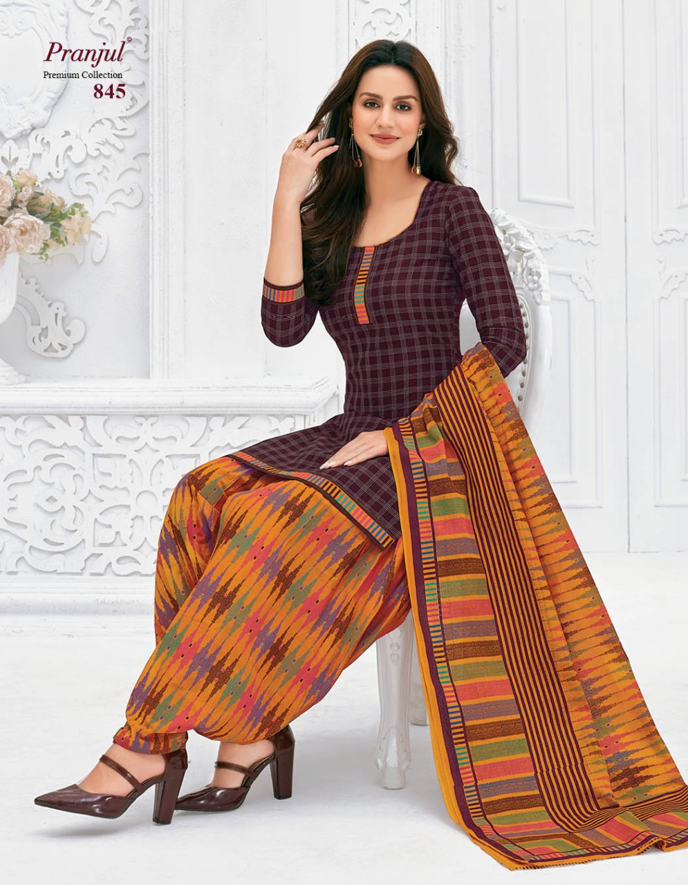 Pranjul Priyanka Vol 8 A Readymade Suit Wholesale Catalog 15 Pcs 22 - Pranjul Priyanka Vol 8 A Readymade Suit Wholesale Catalog 15 Pcs