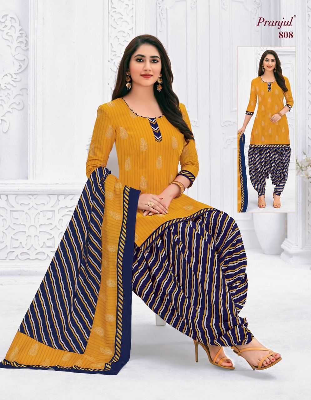 Pranjul Priyanka Vol 8 A Readymade Suit Wholesale Catalog 15 Pcs 3 - Pranjul Priyanka Vol 8 A Readymade Suit Wholesale Catalog 15 Pcs