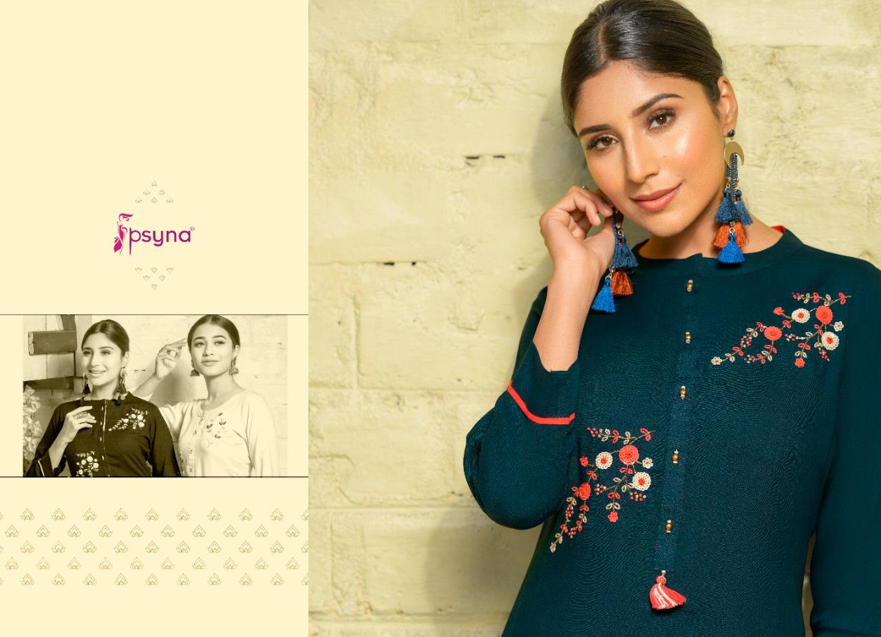 Psyna Poshak Vol 10 Kurti Wholesale Catalog 10 Pcs 7 - Psyna Poshak Vol 10 Kurti Wholesale Catalog 10 Pcs