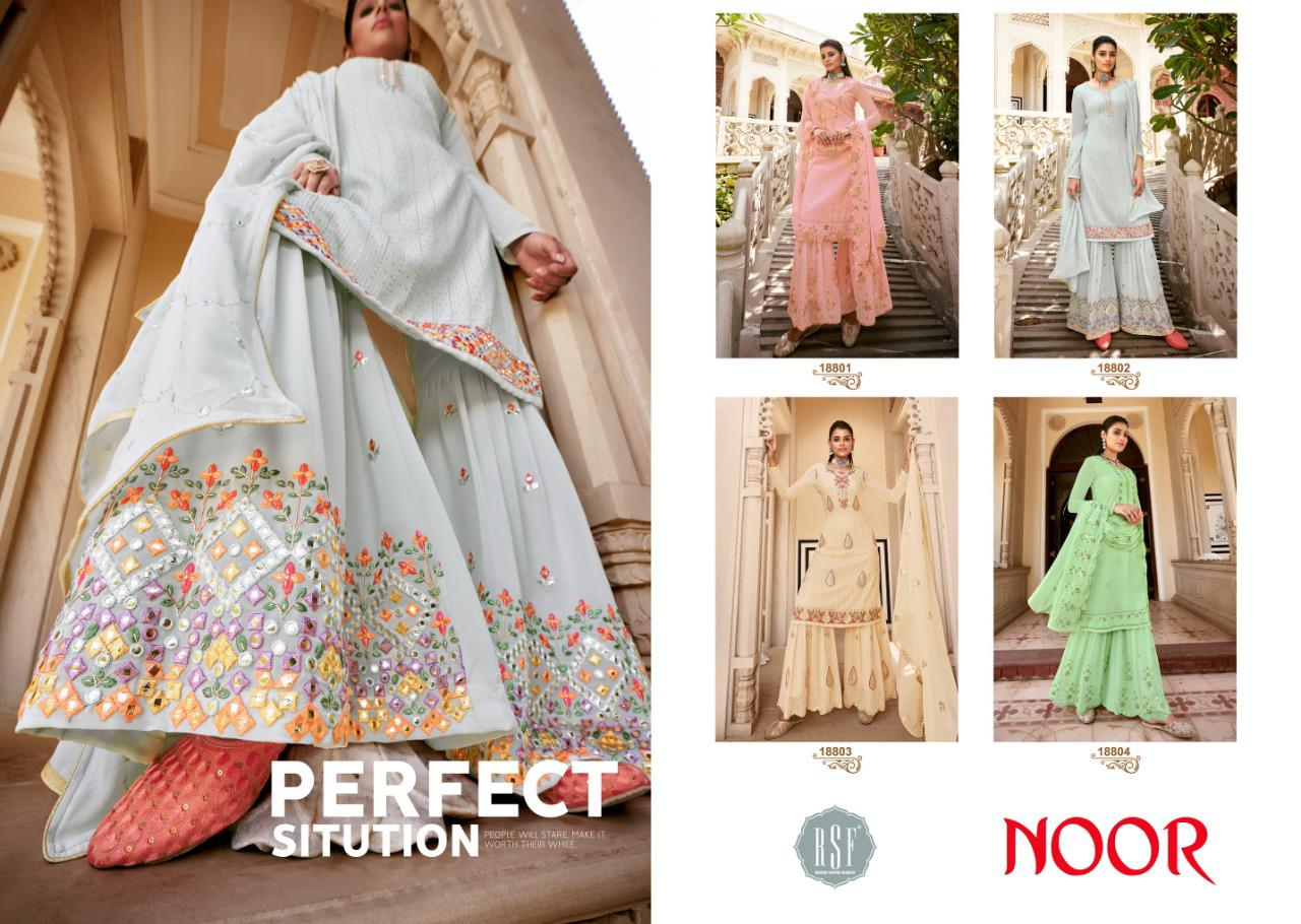 RSF Noor Salwar Suit Wholesale Catalog 4 Pcs 9 - RSF Noor Salwar Suit Wholesale Catalog 4 Pcs