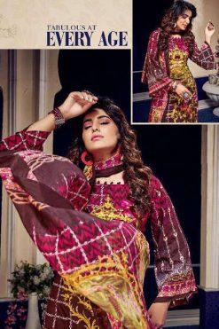 Rawayat Luxury Lawn Collection Vol 7 Salwar Suit Wholesale Catalog 10 Pcs