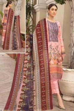 Sana Safinaz Luxury Lawn Collection Vol 9 Salwar Suit Wholesale Catalog 8 Pcs