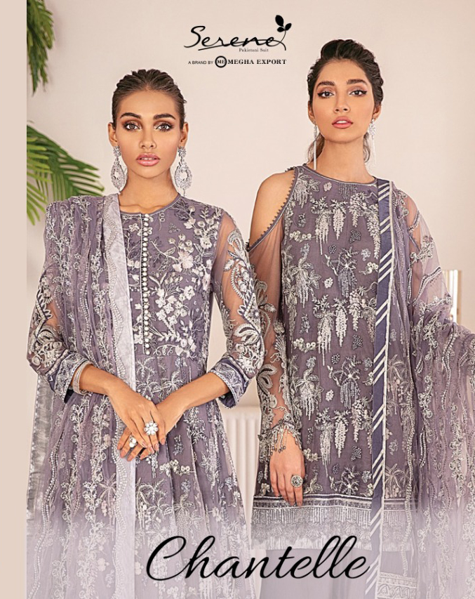 Serene Chantelle Salwar Suit Wholesale Catalog 3 Pcs 1 - Serene Chantelle Salwar Suit Wholesale Catalog 3 Pcs