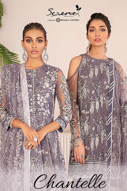 Serene Chantelle Salwar Suit Wholesale Catalog 3 Pcs