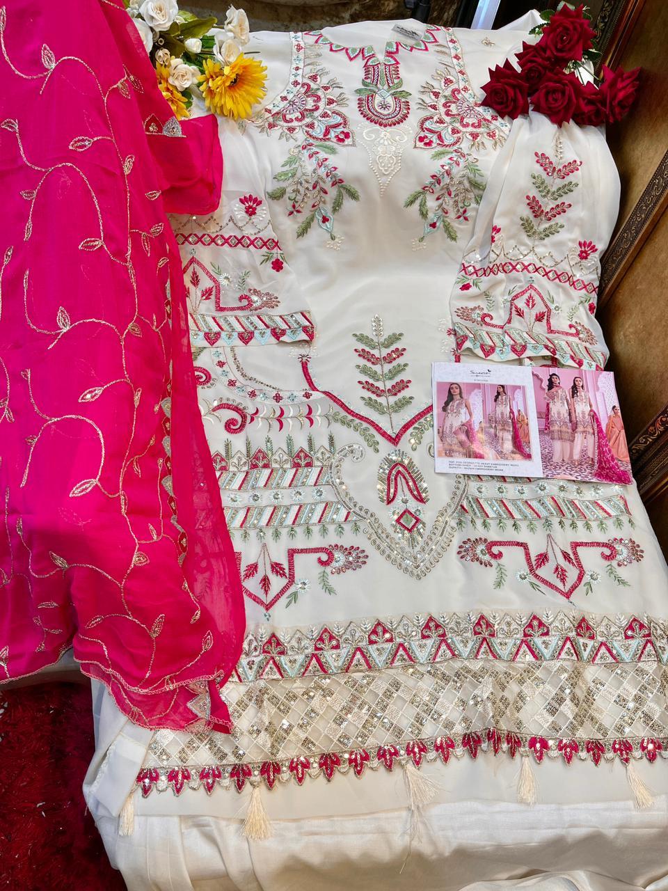 Serene Iznik Salwar Suit Wholesale Catalog 5 Pcs 10 - Serene Iznik Salwar Suit Wholesale Catalog 5 Pcs