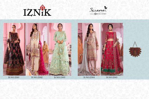 Serene Iznik Salwar Suit Wholesale Catalog 5 Pcs 6 510x340 - Serene Iznik Salwar Suit Wholesale Catalog 5 Pcs