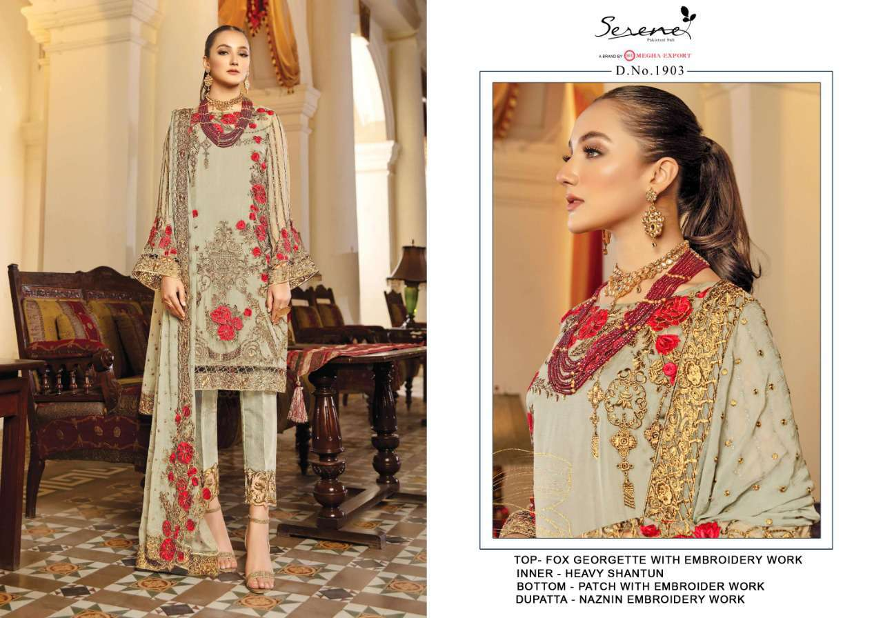 Serene La More Salwar Suit Wholesale Catalog 5 Pcs 5 - Serene La' More Salwar Suit Wholesale Catalog 5 Pcs