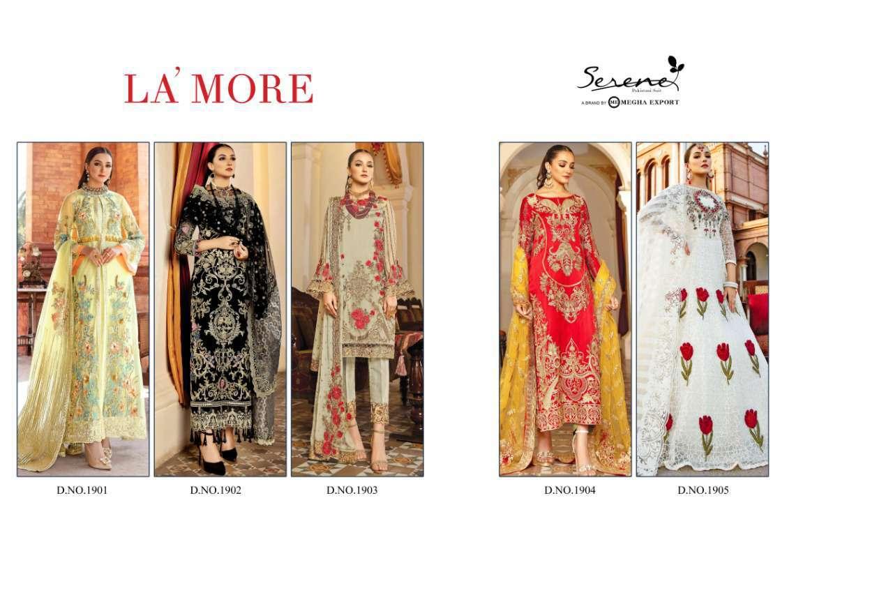 Serene La More Salwar Suit Wholesale Catalog 5 Pcs 7 - Serene La' More Salwar Suit Wholesale Catalog 5 Pcs