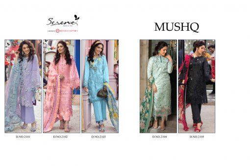 Serene Mushq Salwar Suit Wholesale Catalog 5 Pcs 6 510x340 - Serene Mushq Salwar Suit Wholesale Catalog 5 Pcs