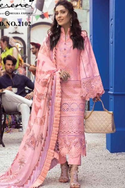Serene Mushq Salwar Suit Wholesale Catalog 5 Pcs - Serene Mushq Salwar Suit Wholesale Catalog 5 Pcs