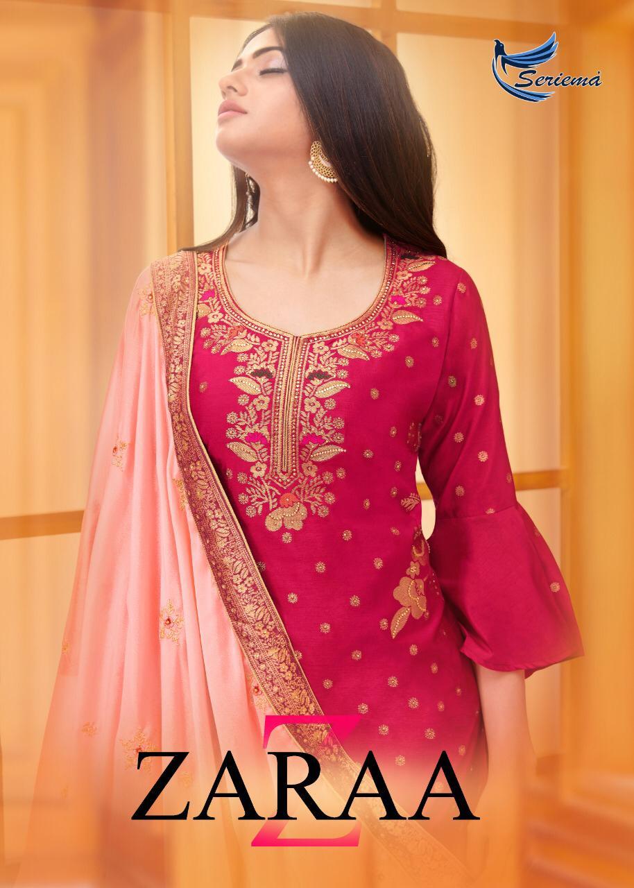 Seriema Zaraa Salwar Suit Wholesale Catalog 6 Pcs 1 - Seriema Zaraa Salwar Suit Wholesale Catalog 6 Pcs