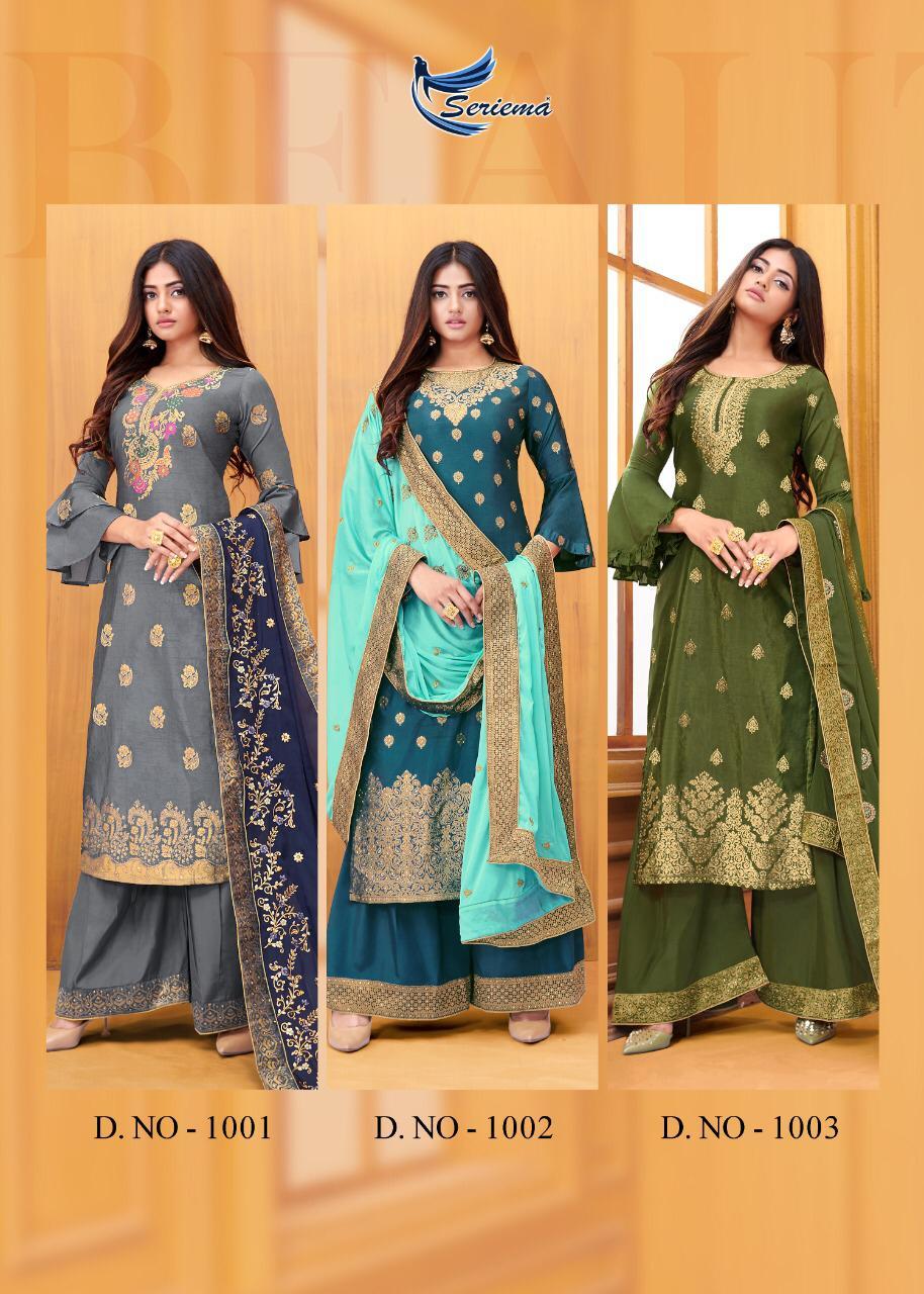 Seriema Zaraa Salwar Suit Wholesale Catalog 6 Pcs 14 - Seriema Zaraa Salwar Suit Wholesale Catalog 6 Pcs