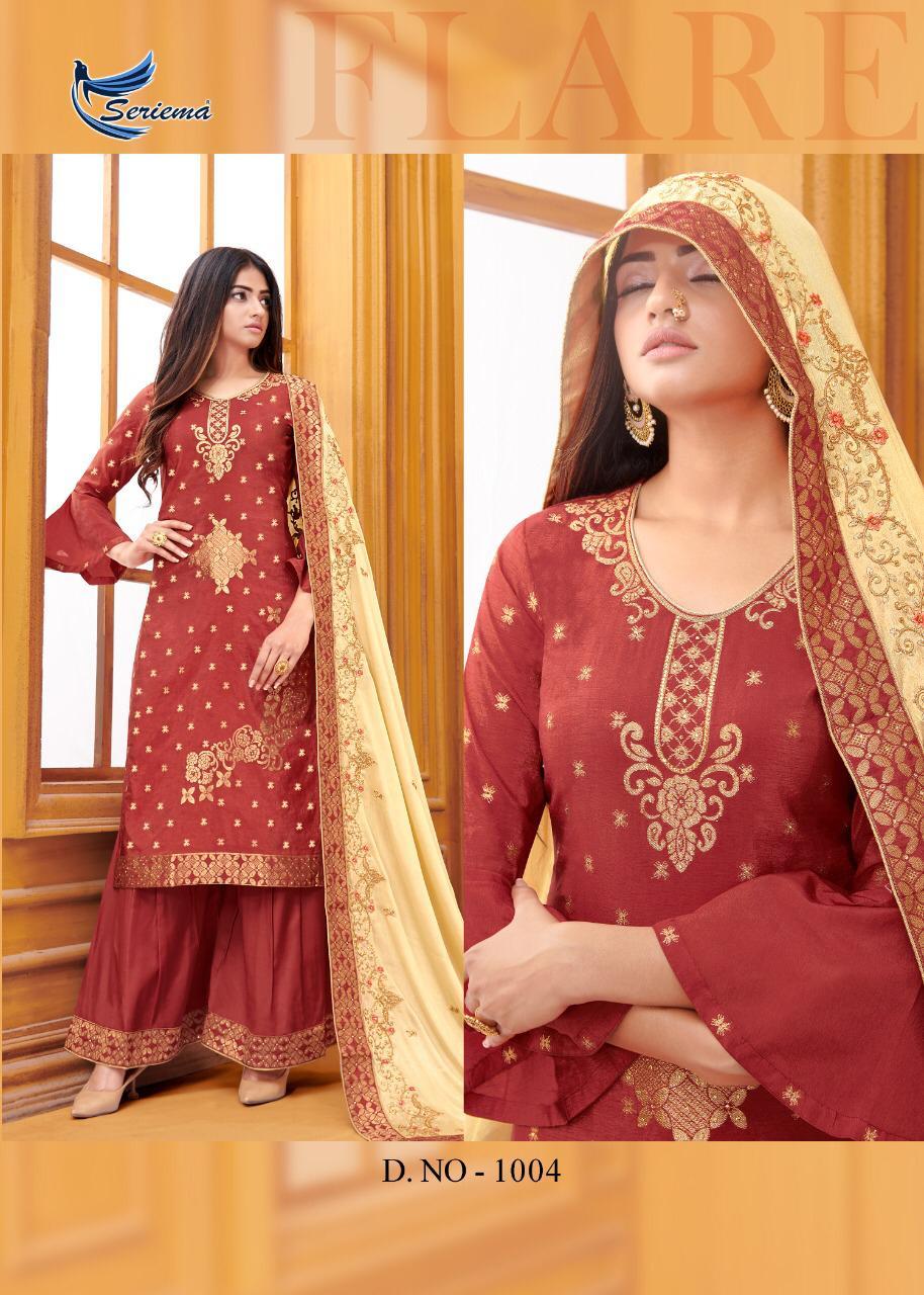 Seriema Zaraa Salwar Suit Wholesale Catalog 6 Pcs 8 - Seriema Zaraa Salwar Suit Wholesale Catalog 6 Pcs