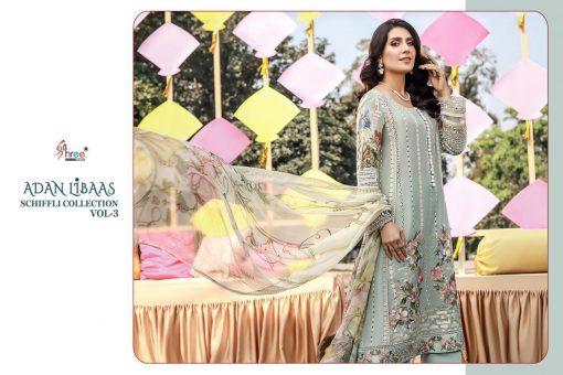 Shree Fabs Adan Libaas Schiffli Collection Vol 3 Salwar Suit Wholesale Catalog 6 Pcs 1 510x340 - Shree Fabs Adan Libaas Schiffli Collection Vol 3 Salwar Suit Wholesale Catalog 6 Pcs
