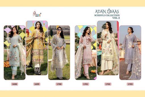 Shree Fabs Adan Libaas Schiffli Collection Vol 3 Salwar Suit Wholesale Catalog 6 Pcs 14 510x340 - Shree Fabs Adan Libaas Schiffli Collection Vol 3 Salwar Suit Wholesale Catalog 6 Pcs
