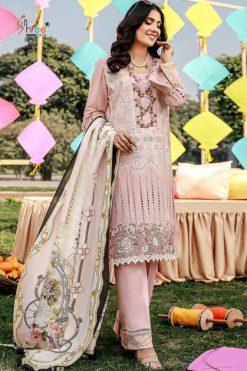 Shree Fabs Adan Libaas Schiffli Collection Vol 3 Salwar Suit Wholesale Catalog 6 Pcs
