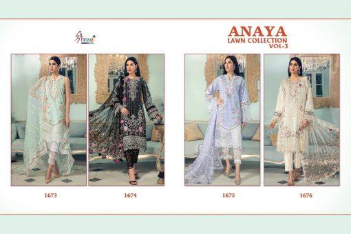 Shree Fabs Anaya Lawn Collection Vol 3 Salwar Suit Wholesale Catalog 4 Pcs 10 510x340 - Shree Fabs Anaya Lawn Collection Vol 3 Salwar Suit Wholesale Catalog 4 Pcs
