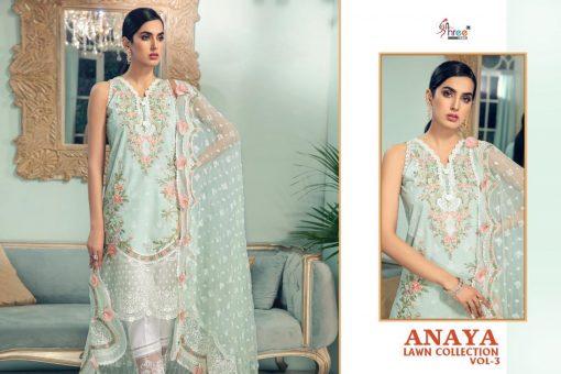 Shree Fabs Anaya Lawn Collection Vol 3 Salwar Suit Wholesale Catalog 4 Pcs 3 510x340 - Shree Fabs Anaya Lawn Collection Vol 3 Salwar Suit Wholesale Catalog 4 Pcs