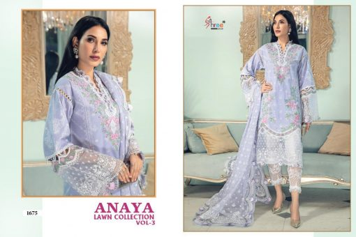 Shree Fabs Anaya Lawn Collection Vol 3 Salwar Suit Wholesale Catalog 4 Pcs 4 510x340 - Shree Fabs Anaya Lawn Collection Vol 3 Salwar Suit Wholesale Catalog 4 Pcs