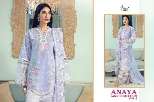 Shree Fabs Anaya Lawn Collection Vol 3 Salwar Suit Wholesale Catalog 4 Pcs 5 510x340 - Shree Fabs Anaya Lawn Collection Vol 3 Salwar Suit Wholesale Catalog 4 Pcs