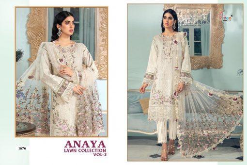 Shree Fabs Anaya Lawn Collection Vol 3 Salwar Suit Wholesale Catalog 4 Pcs 8 510x340 - Shree Fabs Anaya Lawn Collection Vol 3 Salwar Suit Wholesale Catalog 4 Pcs