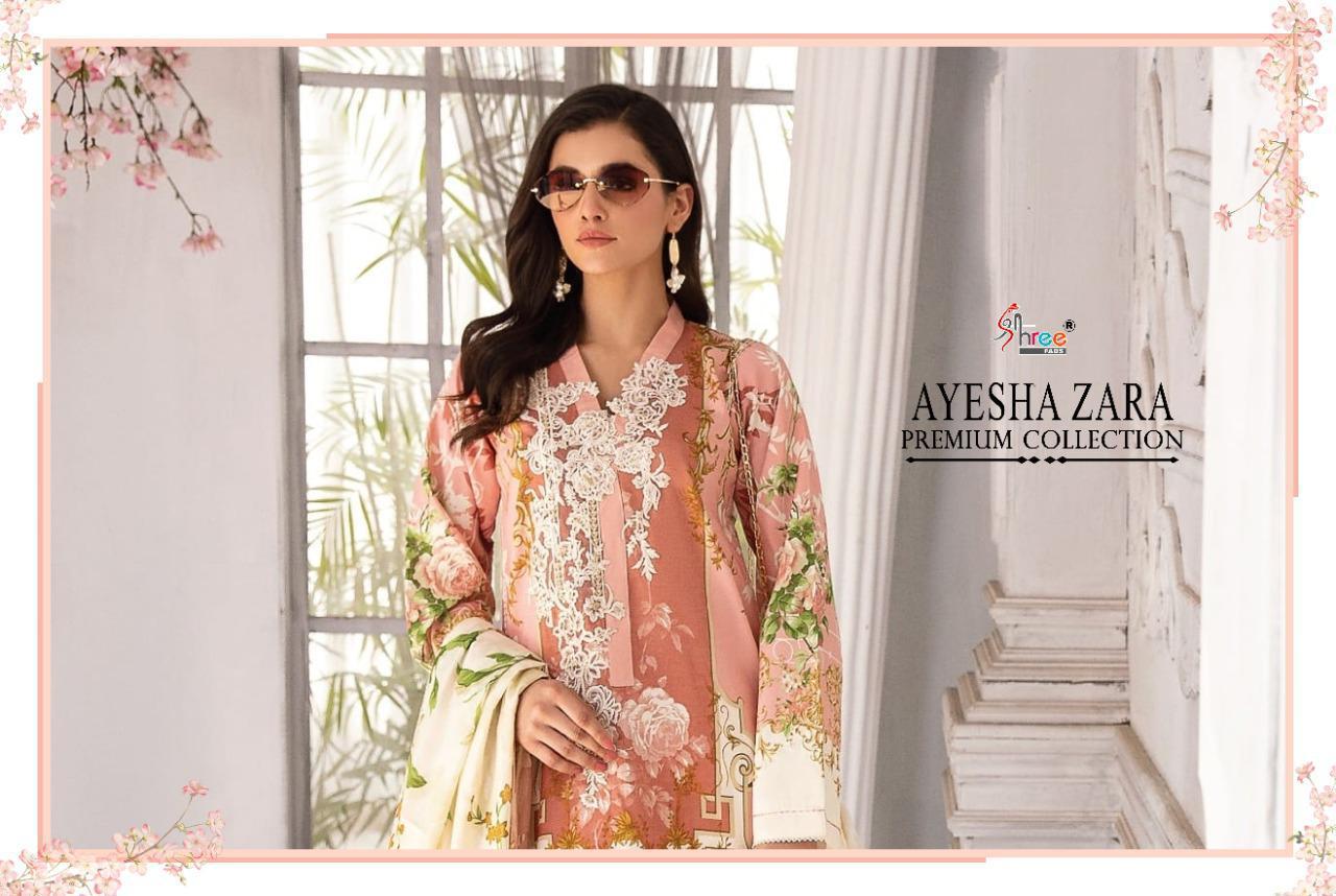 Shree Fabs Ayesha Zara Premium Collection Salwar Suit Wholesale Catalog 8 Pcs 11 - Shree Fabs Ayesha Zara Premium Collection Salwar Suit Wholesale Catalog 8 Pcs