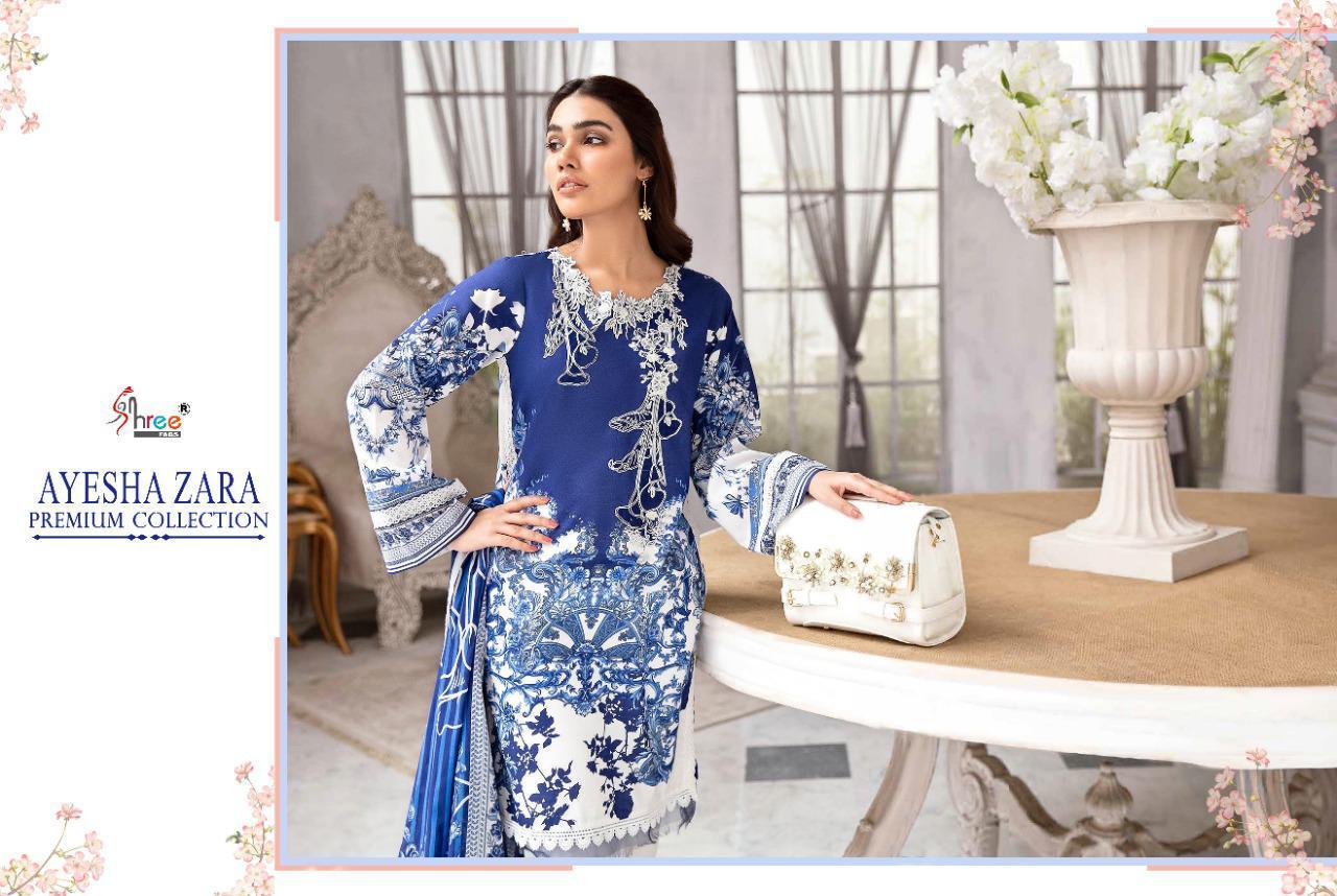 Shree Fabs Ayesha Zara Premium Collection Salwar Suit Wholesale Catalog 8 Pcs 13 - Shree Fabs Ayesha Zara Premium Collection Salwar Suit Wholesale Catalog 8 Pcs