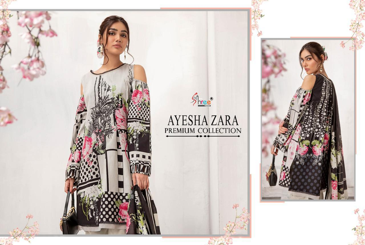 Shree Fabs Ayesha Zara Premium Collection Salwar Suit Wholesale Catalog 8 Pcs 14 - Shree Fabs Ayesha Zara Premium Collection Salwar Suit Wholesale Catalog 8 Pcs