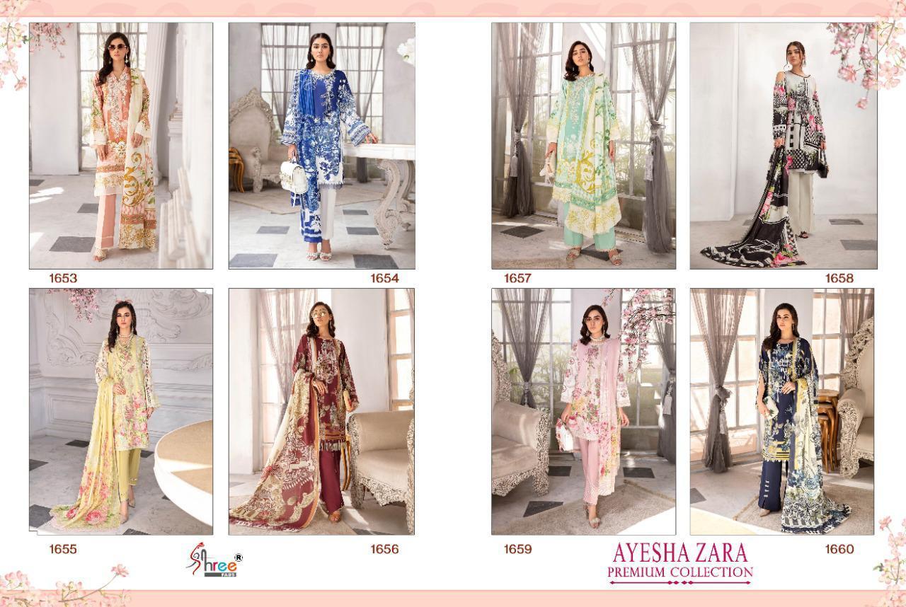 Shree Fabs Ayesha Zara Premium Collection Salwar Suit Wholesale Catalog 8 Pcs 17 - Shree Fabs Ayesha Zara Premium Collection Salwar Suit Wholesale Catalog 8 Pcs