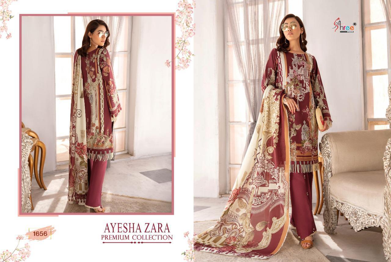 Shree Fabs Ayesha Zara Premium Collection Salwar Suit Wholesale Catalog 8 Pcs 5 - Shree Fabs Ayesha Zara Premium Collection Salwar Suit Wholesale Catalog 8 Pcs
