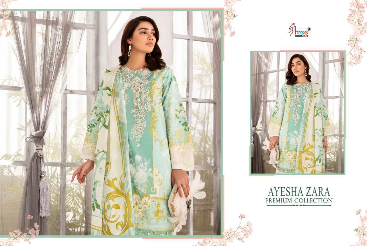 Shree Fabs Ayesha Zara Premium Collection Salwar Suit Wholesale Catalog 8 Pcs 7 - Shree Fabs Ayesha Zara Premium Collection Salwar Suit Wholesale Catalog 8 Pcs