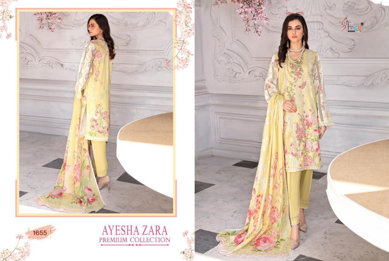 Shree Fabs Ayesha Zara Premium Collection Salwar Suit Wholesale Catalog 8 Pcs 9 - Shree Fabs Ayesha Zara Premium Collection Salwar Suit Wholesale Catalog 8 Pcs