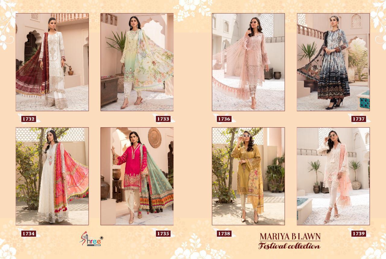 Shree Fabs Mariya B Lawn Festival Collection Salwar Suit Wholesale Catalog 8 Pcs 13 - Shree Fabs Mariya B Lawn Festival Collection Salwar Suit Wholesale Catalog 8 Pcs