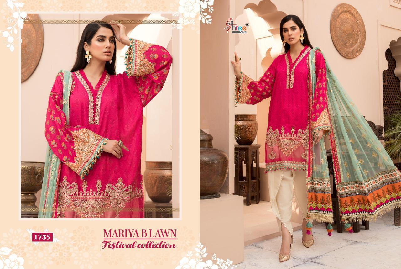 Shree Fabs Mariya B Lawn Festival Collection Salwar Suit Wholesale Catalog 8 Pcs 6 - Shree Fabs Mariya B Lawn Festival Collection Salwar Suit Wholesale Catalog 8 Pcs