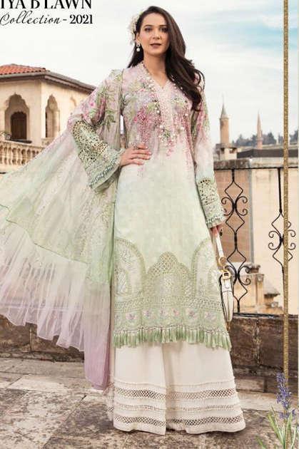 Shree Fabs Mariya B Super Hit Design Salwar Suit Wholesale Catalog 3 Pcs