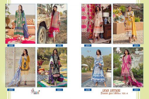 Shree Fabs Sana Safinaz Premium Lawn Collection Vol 4 Salwar Suit Wholesale Catalog 8 Pcs 18 510x342 - Shree Fabs Sana Safinaz Premium Lawn Collection Vol 4 Salwar Suit Wholesale Catalog 8 Pcs