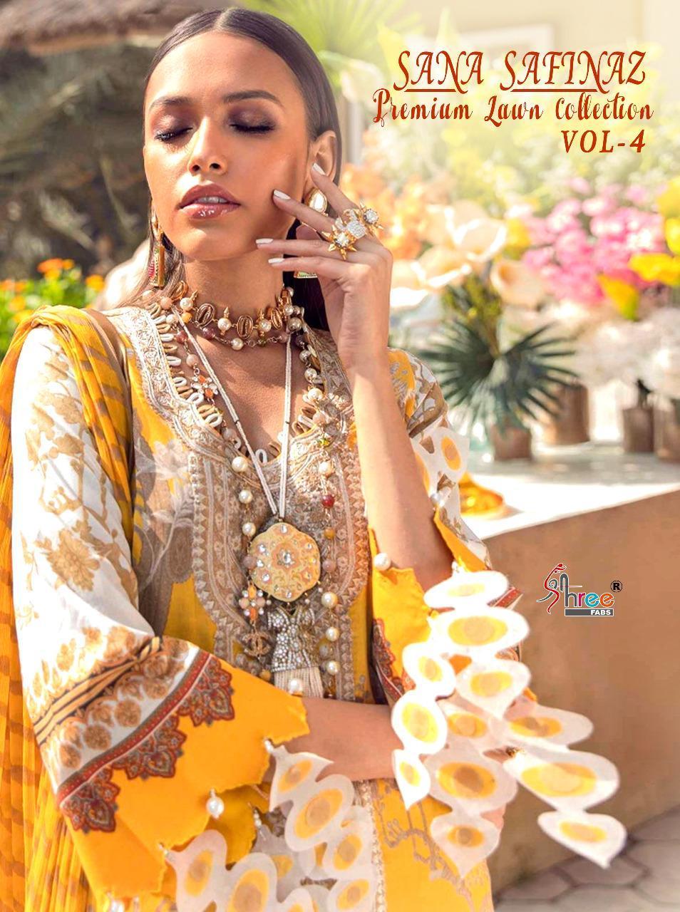 Shree Fabs Sana Safinaz Premium Lawn Collection Vol 4 Salwar Suit Wholesale Catalog 8 Pcs 2 - Shree Fabs Sana Safinaz Premium Lawn Collection Vol 4 Salwar Suit Wholesale Catalog 8 Pcs