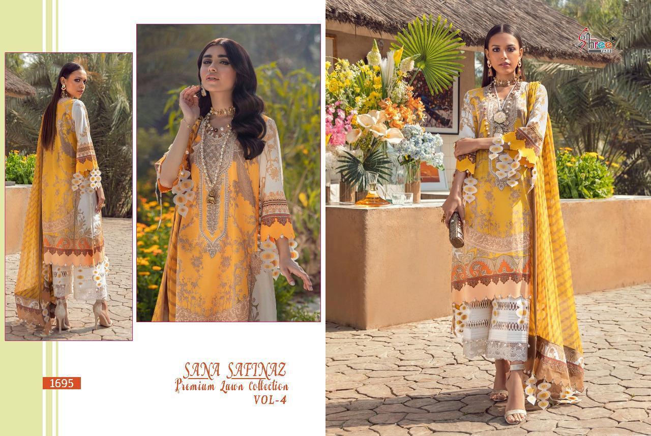 Shree Fabs Sana Safinaz Premium Lawn Collection Vol 4 Salwar Suit Wholesale Catalog 8 Pcs 7 - Shree Fabs Sana Safinaz Premium Lawn Collection Vol 4 Salwar Suit Wholesale Catalog 8 Pcs