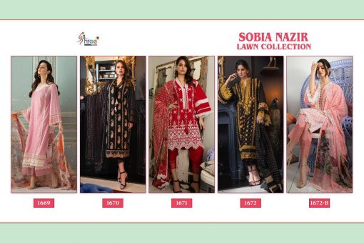 Shree Fabs Sobia Nazir Lawn Collection Salwar Suit Wholesale Catalog 5 Pcs 10 510x340 - Shree Fabs Sobia Nazir Lawn Collection Salwar Suit Wholesale Catalog 5 Pcs