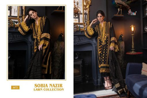Shree Fabs Sobia Nazir Lawn Collection Salwar Suit Wholesale Catalog 5 Pcs 6 510x340 - Shree Fabs Sobia Nazir Lawn Collection Salwar Suit Wholesale Catalog 5 Pcs