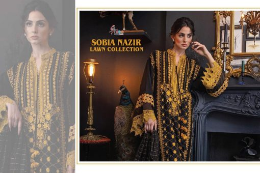 Shree Fabs Sobia Nazir Lawn Collection Salwar Suit Wholesale Catalog 5 Pcs 9 510x340 - Shree Fabs Sobia Nazir Lawn Collection Salwar Suit Wholesale Catalog 5 Pcs