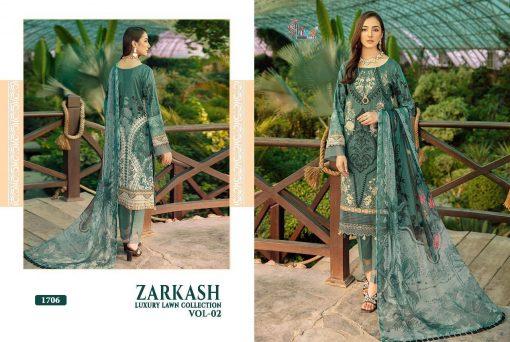 Shree Fabs Zarkash Luxury Lawn Collection Vol 2 Salwar Suit Wholesale Catalog 7 Pcs 15 510x342 - Shree Fabs Zarkash Luxury Lawn Collection Vol 2 Salwar Suit Wholesale Catalog 7 Pcs