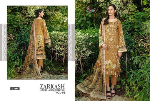 Shree Fabs Zarkash Luxury Lawn Collection Vol 2 Salwar Suit Wholesale Catalog 7 Pcs 9 510x342 - Shree Fabs Zarkash Luxury Lawn Collection Vol 2 Salwar Suit Wholesale Catalog 7 Pcs